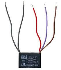 amazon com ketofa ceiling fan capacitor 5 wire 4 5 5 6 home