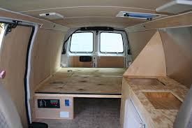 Bradleys Blog Cargo Van Sleeper Ideas DIY And Tons Of Pictures
