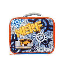Melissa And Doug Floor Puzzles Target by Nerf Target Elite Insulated Lunch Box Blue Orange Toys