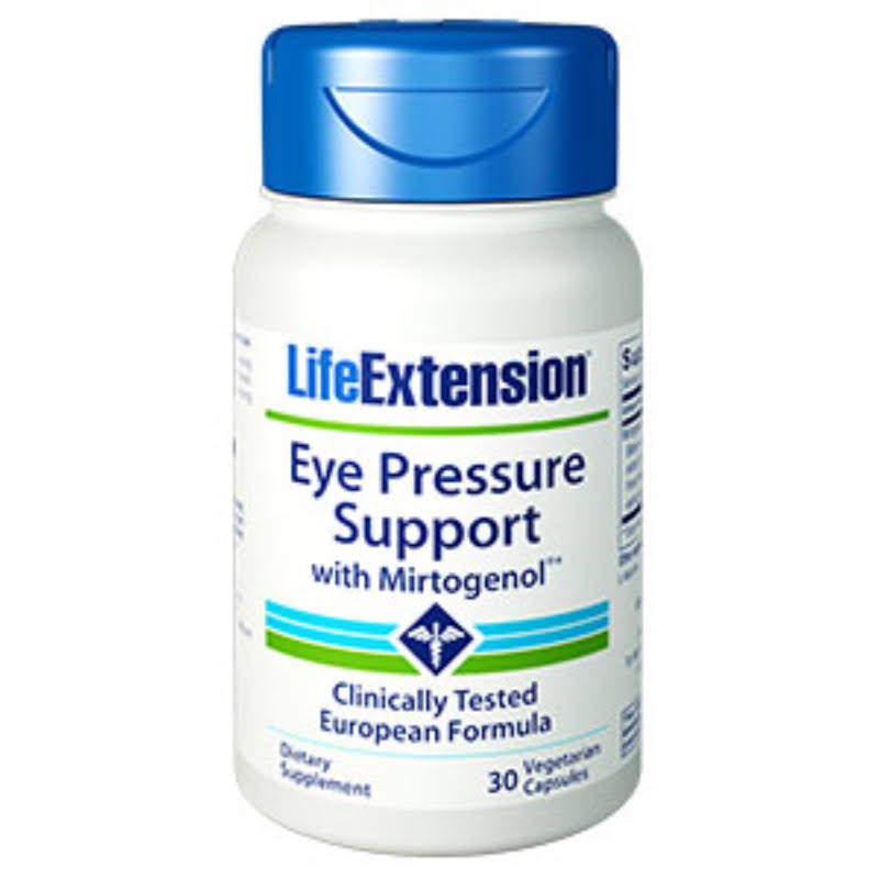 Life Extension Eye Pressure Support with Mirtogenol 30 Vegetarian Capsules