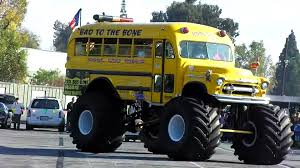 This Monster School Bus Is Just So Cool For School Monster Truck Lands First Ever Frontflip This School Bus Is Just So Cool For Photo Album Grim Reaper Monster Crushes Cars On The Day Of Stock First Front Flip With A Badchix Magazine Truck Front Went To My Jam Event Yesterday Son Trucks Fun At Monsignor Clarke Rhode Watch Worlds Flip I Loved My Rally Kotaku Australia Cake Wonky Cakes