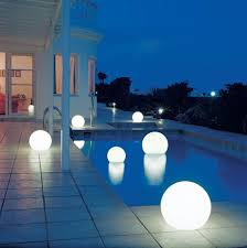 DecorationsDramatic Modern House With Small Pool Also Ball Outdoor Light Ideas Dramatic