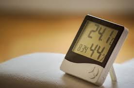 richtig lüften richtig heizen luftfeuchtigkeit hygrometer