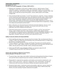 Resume Samples Objectives Chemical Engineering