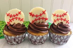 These Reeses White Chocolate Home Run Baseball Cupcakes Are Sure To Be A Big
