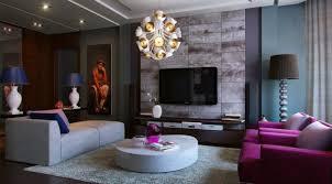 brown and purple living room peenmedia