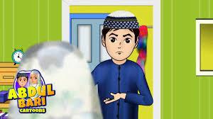 Dua For Entering Bathroom by Before Entering Into Toilet Dua Abdul Bari Urdu Islamic Cartoons