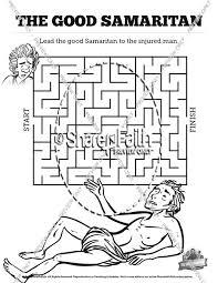 The Good Samaritan Bible Mazes