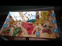 Wooden Risk Board