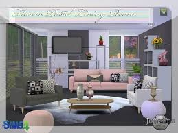 Sims Room 4 Jomsimscreations New Living Flavor Pastel Click Image To Download On