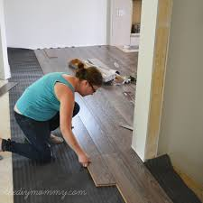 Lowes Canada Bathroom Floor Tile by How To Install Laminate Flooring The Best Floors For Families