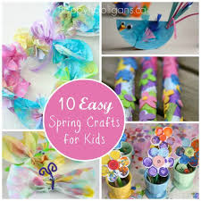 10 Spring Crafts For Toddlers And Preschoolers
