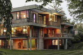 100 Concrete House Design The Rise Of The Fashionable Home WSJ