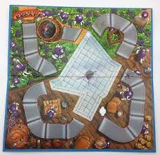 The Grape Escape Board Game Replacement 1992 Parker Brothers