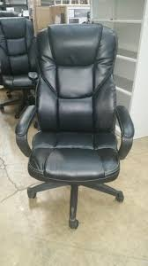 realspace outlet fosner high back bonded leather chair 48 h x 28