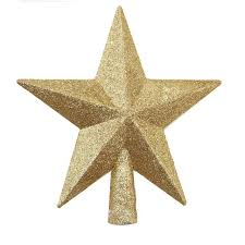 Christmas Tree Top Star Topper For Table Ornament Xmas Decorative Party Event