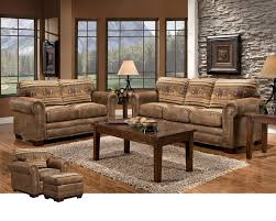 Wild Horses 4 Piece Living Room Set By American Furniture Classics