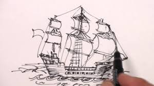 100 Design A Pirate Ship Simple Drawing At PaintingValleycom Explore