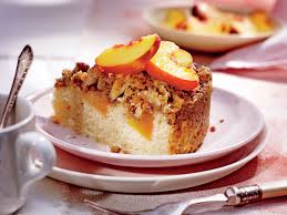Pumpkin Pie With Pecan Streusel Topping by Fresh Peach Coffee Cake With Pecan Streusel Recipe Southern Living