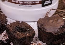 chocolate molten lava cake cup cake