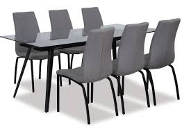 Monti Dining Table Asama Chairs X 6