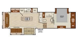 R Pod Floor Plans 2018 by Coachmen Chaparral 2018 336tsik Fp Png
