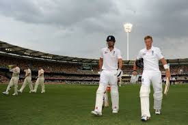 Root And Cook Head Off The Gabba As Rain Hits Brisbane