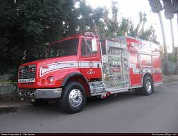 100 Freightliner Fire Trucks FL112 Other Los Angeles Department Emergency