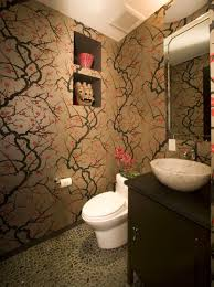 Japanese Cherry Blossom Bathroom Set by The Beauty Of Cherry Blossom Wallpaper