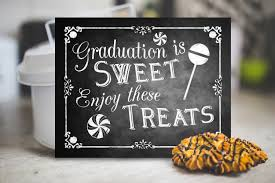 Graduation Decoration Ideas 2017 by Printable Graduation Chalkboard Candy Sign Candy Favors