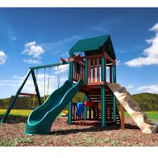 Backyards : Gorgeous Land Slide Fenced Backyard With Wooden ... 25 Unique Diy Playground Ideas On Pinterest Kids Yard Backyard Gemini Wood Fort Swingset Plans Jacks Pics On Fresh Landscape Design With Pool 2015 884 Backyards Wondrous Playground How To Create A Park Diy Clubhouse Cluttered Genius Home Ideas Triton Fortswingset Best Simple Tree House Places To Play Modern Playgrounds Pallet Playhouse