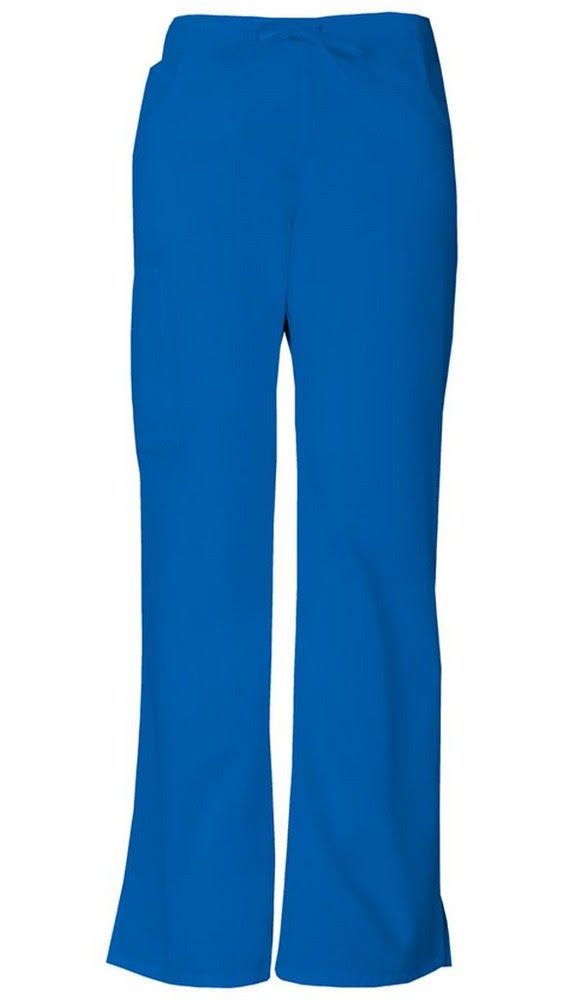 Dickies Womens EDS Signature Midrise Drawstring Cargo Pant - Royal, X-Large