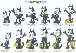 felix the cat the evolution of felix the cat 1919 to present by
