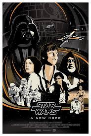 Original Star Wars Trilogy Poster Series By Brad