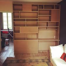 bureau bibliothèque intégré bibliothèque avec bureau intégré par gboidin sur l air du bois
