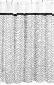Chevron Print Shower Curtains by Zig Zag Black U0026 Gray Chevron Print Shower Curtain Blanket Warehouse