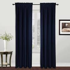 Navy And White Vertical Striped Curtains by Stripe Curtains U0026 Drapes For Less Overstock Com