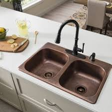 Overmount Double Kitchen Sink by Drop In Kitchen Sinks For Less Overstock Com