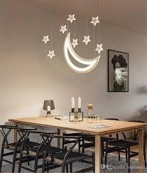 großhandel und mond hängende lichter moderne led pendelleuchten für wohnzimmer esszimmer bar hauptdekoration pendelleuchte topmeed 81 39