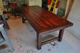 New Rustic Cherry Dining Table 24 For Home Pictures With
