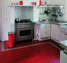 Marmoleum Floor In A Kitchen Image Via Linoleumstore