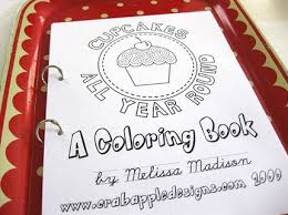 Cupcake Coloring Book On Sal Fabulous Make Your Own