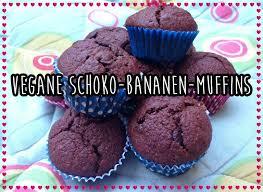 vegane rezepte für mäkelesser schoko bananen muffins