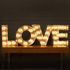 light up fairground bulb sign bulbs lights and bedrooms