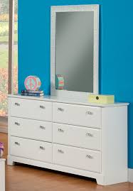 Ebay Dressers With Mirrors by Amazon Com Sandberg Furniture Hailey 6 Drawer Dresser With Mirror