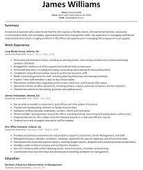 Executive Assistant Resume Sample Resumelift