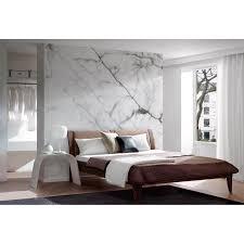 fototapete vlies premium marmor stein weiß schwarz