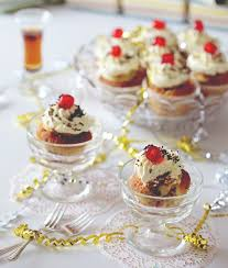 English Trifle Cupcakes