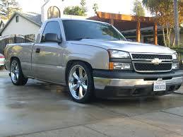 100 Single Cab Chevy Trucks For Sale CA 2006 RCSB Silverado Lowered 46 Truck Um