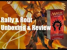 gatecrash event deck rally rout unboxing review youtube